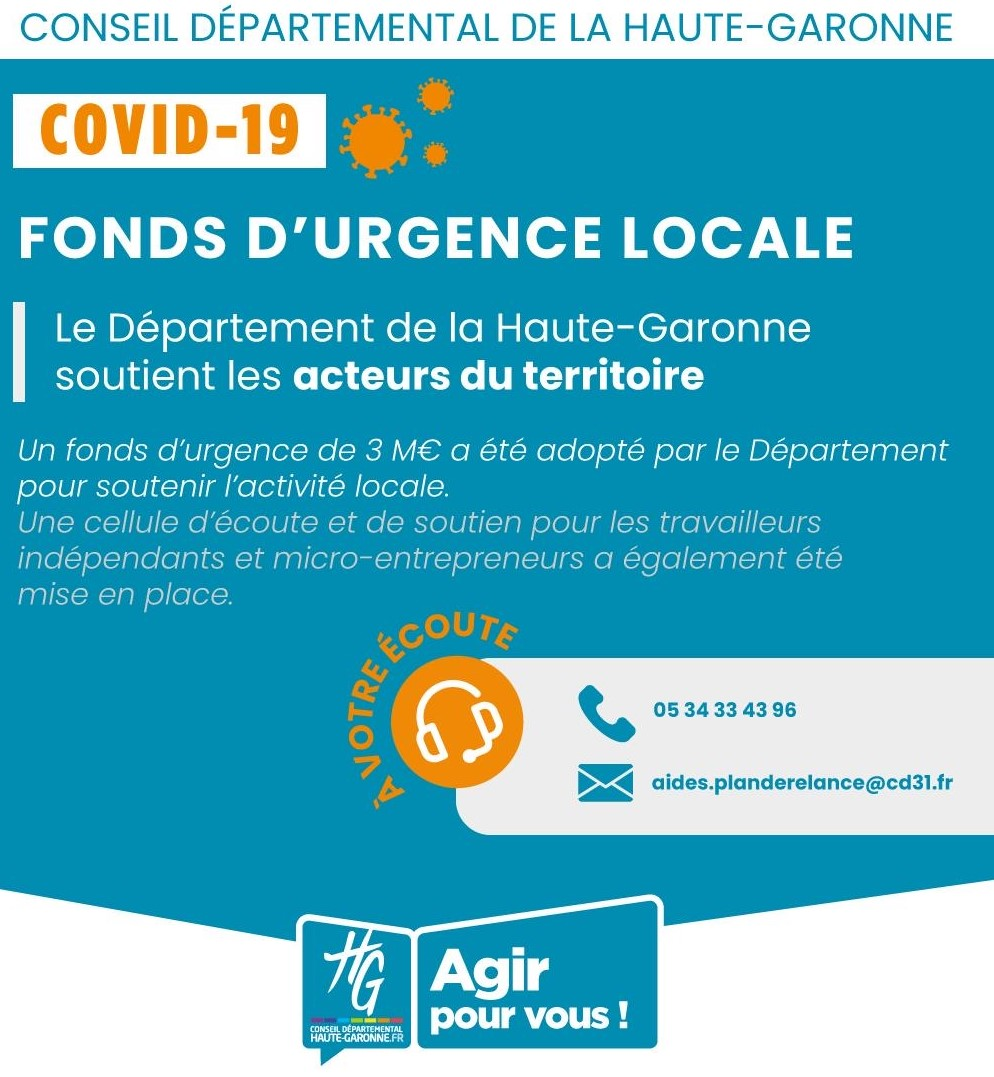CD31 COVID 19 Fonds durgence locale 1